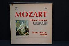 LP: Mozart Piano Sonatas Rondo K.494 Fantasy K. 475 Walter Klein BoxVox