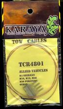 Karaya Models 1/48 METAL TOW CABLES Allied WWII Tanks & Vehicles