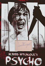 JANET LEIGH Signed 12X8 Photo Display PSYCHO Alfred Hitchcock COA
