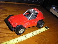 "1/32 ? 5"" Vintage Tootsie Toy Dune Buggy Rail Race Sand Car Red"