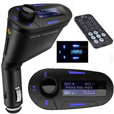 Great* Wireless FM Transmitter SD MMC Remote Car MP3 Player 12-24V New