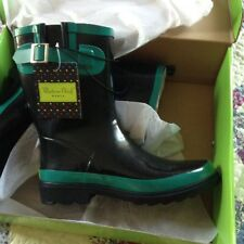 NEW Womens WESTERN CHIEF TOP POP Slip On Waterproof Rubber Rain Shoe/Boots