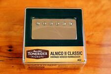 TONERIDER ALNICO II AC2 NICKEL IMPROVED FIFTIES PAF NECK VINTAGE PU 7.8k VINTAGE