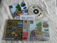 Croc Legend of the Gobbos PS1 (COMPLETE) rare platform platinum Sony PlayStation