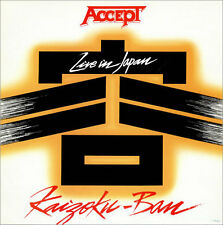 "12"" Accept Kaizoku Ban (Live In Japan) 80`s RCA (Up To The Limit) 80`s RCA"