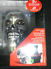 Terminator Genisys Skull 2D+3D Blu-Ray Steelbook,NEU,Deutsch,Lim.EditionGift Set
