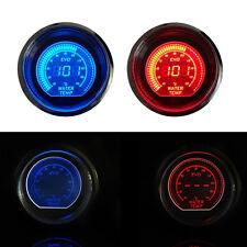 52mm Auto KFZ Wasser Temperatur Instrument Anzeige LED Beleuchtet Gauge