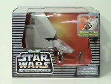 Star Wars Micro Machines Action Fleet Imperial Shuttle Tydirium Han Solo Chewbac
