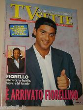TV SETTE=1994/36=BEPPE FIORELLO=OMBRETTA TIZIANA BERTUZZI=CESARE CADEO=ROSSETTI=