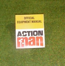 Vintage Action Man 40th Oficial Equipo Manual L50 Sml