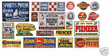 N Scale Feed & Seed Building / Structure Decals #7