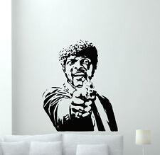 Pulp Fiction Wall Vinyl Decal Samuel Jackson Movie Sticker Art Decor Mural 96zzz