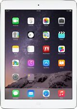 "Apple iPad Air with WiFi 32gb Silver Tablet 9.7"" Retina display New"