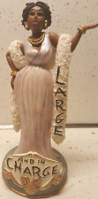 """Cidne Wallace:Figurine """"Large In Charge""""/African American Art/BLACK AMERICANA"""