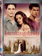 Twilight Saga: Breaking Dawn - Part 1 [Special Editio (2012, DVD NEUF)2 DISC SET