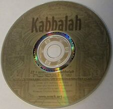 NEW Kabbalah CD, 24+ book Zohar 72 Names of God  Mystic