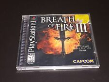Breath of Fire III 3 Playstation 1 PS1 Complete CIB