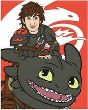 How To Train Your Dragon 2 Panel Manta Polar Regalo Nuevo