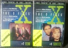 X Files TV Tie In Shapes Squeeze Humbug Fear EBE Voltage 6 books new shrinkwrap!