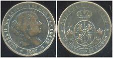 ESPAGNE  2-1/2 centimos   1868
