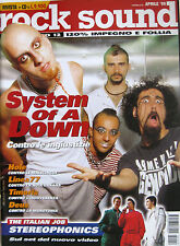 ROCK SOUND 12 1999 System Of A Down Stereophonics Courtney Love Linea 77 Timoria