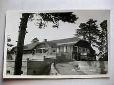 Vintage Real Photo Postcard Hotel at Mt Wilson California