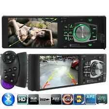 4.1 HD Bluetooth Car Radio Audio Stereo MP3 Player FM/USB Steering Wheel Control