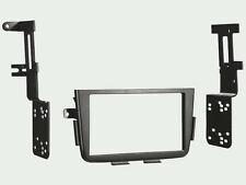 Double Din Stereo Radio Install Mount Dash Trim Kit for 01-06 Acura MDX