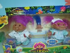 DR CORNELIUS CARE AND NURSE KINDLY (#2) - DAM Troll Dolls - NEW IN PACKAGE