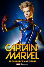 CAPTAIN MARVEL PREMIUM FORMAT FIGURE CAROL DANVERS SIDESHOW COLLECTIBLES