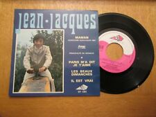 """Jean-Jacques – Maman - French 7"""" EP 1969 Eurovision"""