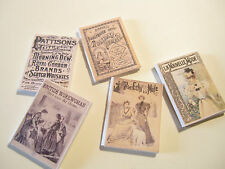 DOLLS HOUSE MINIATURE  VICTORIAN MAGAZINES