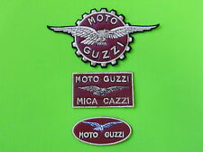 MOTO GUZZI KIT PELLE 3 PATCH TOPPE RICAMATE TERMOADESIVE