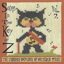 DAMAGED ARTWORK CD Various Artists: Songs in the Key of Z, Vol. 2: The Curious U