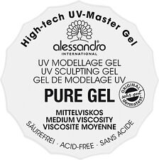 alessandro PURE HIGH TECH UV MASTERGEL, Mittelviskos 15g - TIEGEL (01-911)