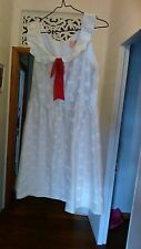 Alannah Hill cream spotted dress size 10