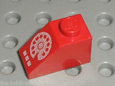 LEGO VINTAGE red Slope brick ref 3040p02 Rotary Phone / Set 381 6377 6384 1589..