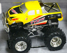 RC 1/43 Radio Control MICRO MONSTER TRUCK  Monster Jam w/ LED Lights Yellow