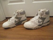 Classic 2005 Used Worn Size 13 Nike Air Force III High Shoes White Gray