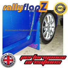 Schmutzfänger SUBARU IMPREZA Fließheck 08-14 rallyflapZ 4mm PVC Blau STi optik