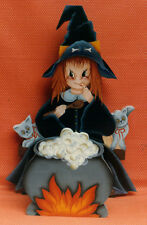 """Winnie The Whimsical Witch"" Pattern Packet by Anne Bliss~OOP"