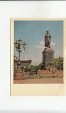 BF29568 monument to a s pushkin russia  front/back image