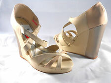 BABY PHAT (JUNO NUDE WEDGE SANDAL) WOMEN'S 8.5 BRAND NEW!!!