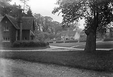 1910s CHENIES #4 Antique Photographic Glass Negative (Buckinghamshire Village)