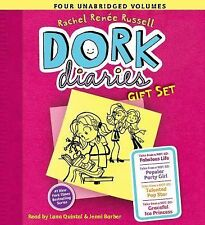 Dork Diaries: Dork Diaries Audio Gift Set : Books 1-4 by Rachel Renée Russell...