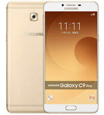 "New Imported Samsung Galaxy C9 Pro Duos Dual 64GB 6GB 6"" 16MP 16MP Gold"