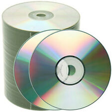 300 pcs 52X Silver Shiny Top Blank CD-R CDR Media Free Priority Mail Shipping