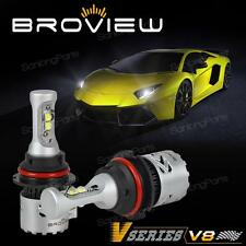 BroView V8 HB5 9007 Cree 12000LM Headlamp Dual Beam Projector 50W LED For Dodge