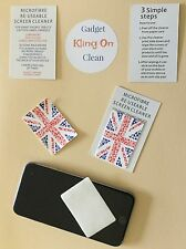 Screen Cleaner Wipe Union Jack BREXIT Mobile Phone, Tablet, Laptop, and devices