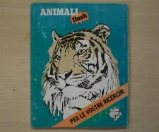 ALBUM DEGLI ANIMALI FLASH - Completo - Figurine Lampo